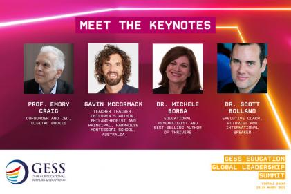 GESS Education Global Leadership Summit Keynote Speakers